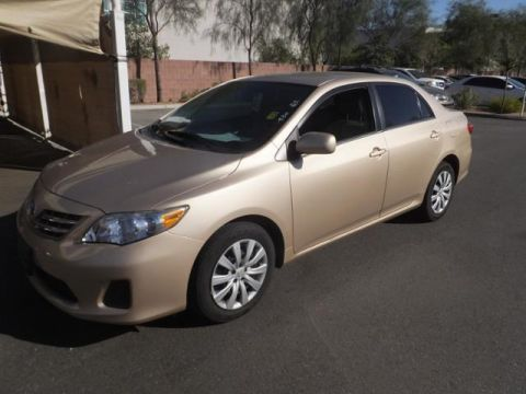 Certified Pre-Owned 2013 Toyota Corolla LE FWD 4dr Car