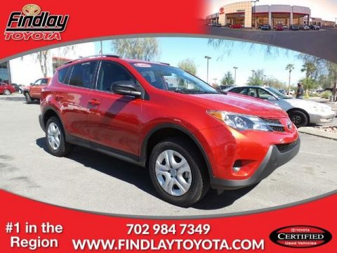 Certified Pre-Owned 2015 Toyota RAV4 FWD 4dr LE (Natl) FWD Sport Utility