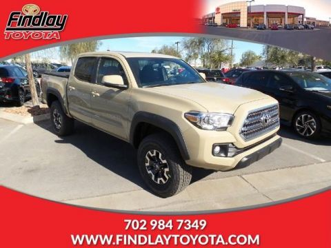 New 2017 Toyota Tacoma TRD Off Road Double Cab 5' Bed V6 4 RWD Double Cab