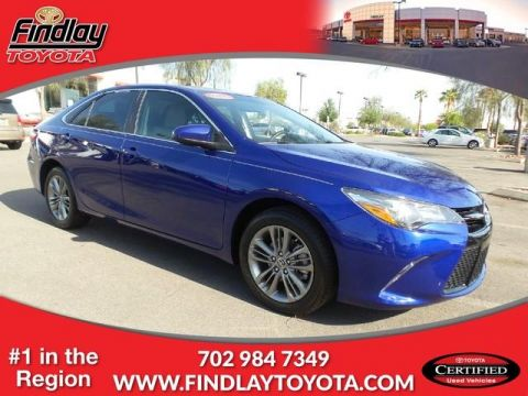 Certified Pre-Owned 2016 Toyota Camry 4dr Sdn I4 Auto SE (Natl) FWD 4dr Car