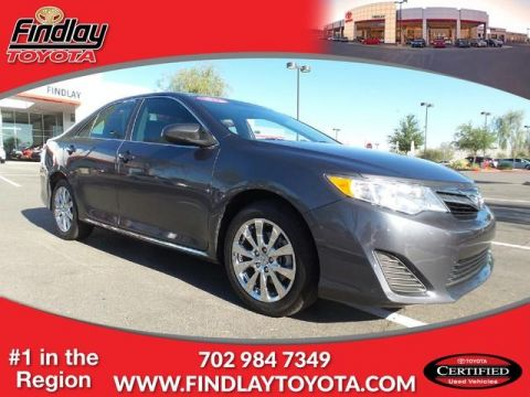Certified Pre-Owned 2012 Toyota Camry LE FWD 4dr Car