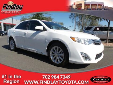 Certified Pre-Owned 2012 Toyota Camry 4dr Sdn V6 Auto XLE (Natl) FWD 4dr Car