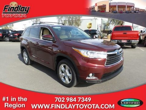 Certified Pre-Owned 2015 Toyota Highlander Hybrid STD AWD
