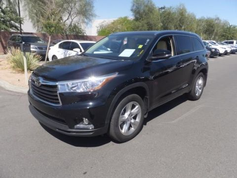 Certified Pre-Owned 2014 Toyota Highlander LTD FWD Sport Utility