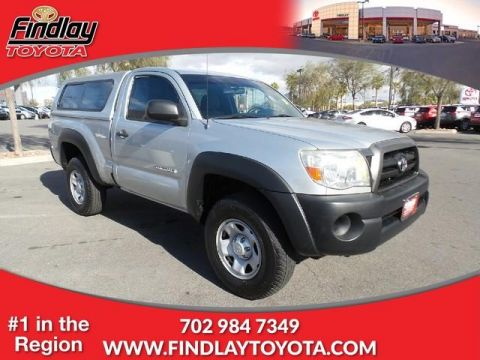 Pre-Owned 2006 Toyota Tacoma Reg 110 PreRunner Manual (Natl) RWD Regular Cab Pickup