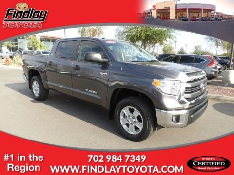 Certified Pre-Owned 2014 Toyota Tundra 4WD CrewMax 5.7L FFV V8 6-Spd AT SR5 (N 4WD