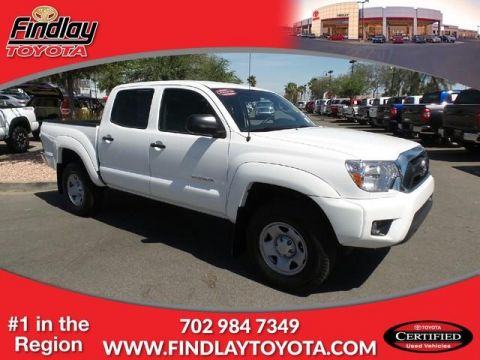 Certified Pre-Owned 2015 Toyota Tacoma 2WD Double Cab V6 AT PreRunner (Nat RWD Double Cab