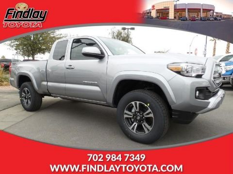 New 2017 Toyota Tacoma TRD Sport Access Cab 6' Bed V6 4x2 RWD Extended Cab Pickup
