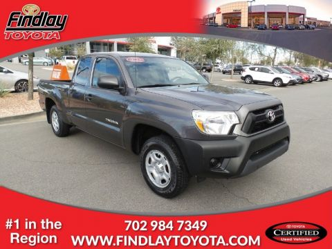 Certified Pre-Owned 2013 TOYOTA Tacoma STD Rear Wheel Drive XCAB