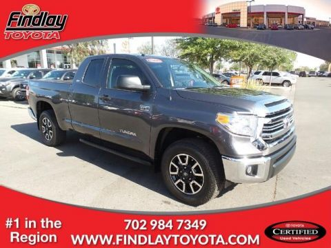 Certified Pre-Owned 2016 Toyota Tundra 4WD Double Cab 5.7L FFV V8 6-Spd AT SR5 4WD