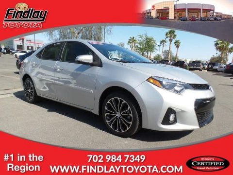 Certified Pre-Owned 2015 Toyota Corolla S FWD 4dr Car