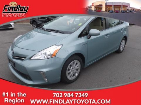 Pre-Owned 2014 TOYOTA PRIUS V 5DR WGN THREE (NATL) Front Wheel Drive Station Wagon