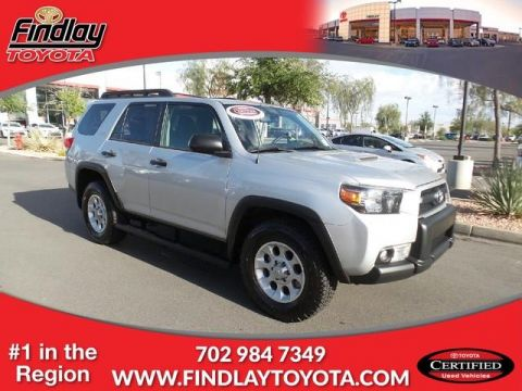 Certified Pre-Owned 2012 Toyota 4Runner CUS 4WD