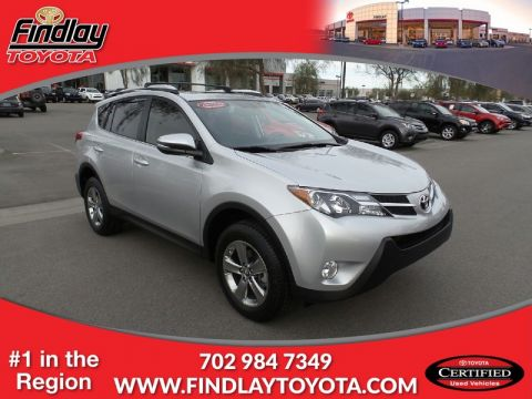 Certified Pre-Owned 2015 TOYOTA RAV4 SP Front Wheel Drive Sport Utility