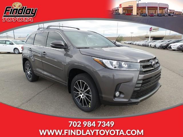 new 2017 toyota highlander se v6 awd natl sport utility in henderson 172478 findlay toyota. Black Bedroom Furniture Sets. Home Design Ideas