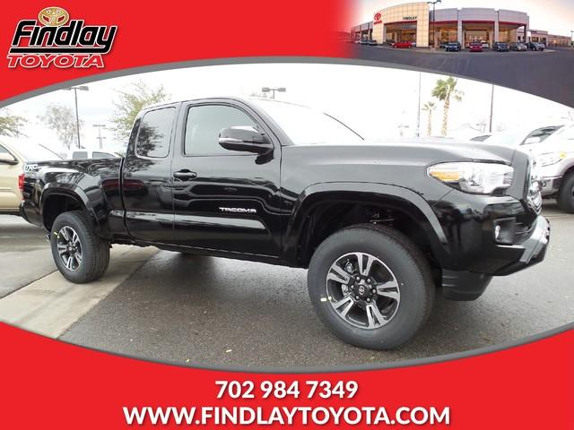New 2017 Toyota Tacoma TRD Sport Access Cab 6' Bed V6 4x2